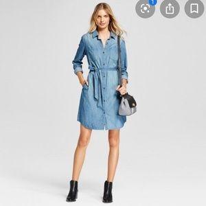 Universal Thread Denim Long Sleeve Dress